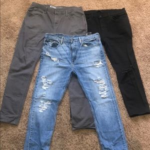 Bundle Deal 3 Pairs of Jeans